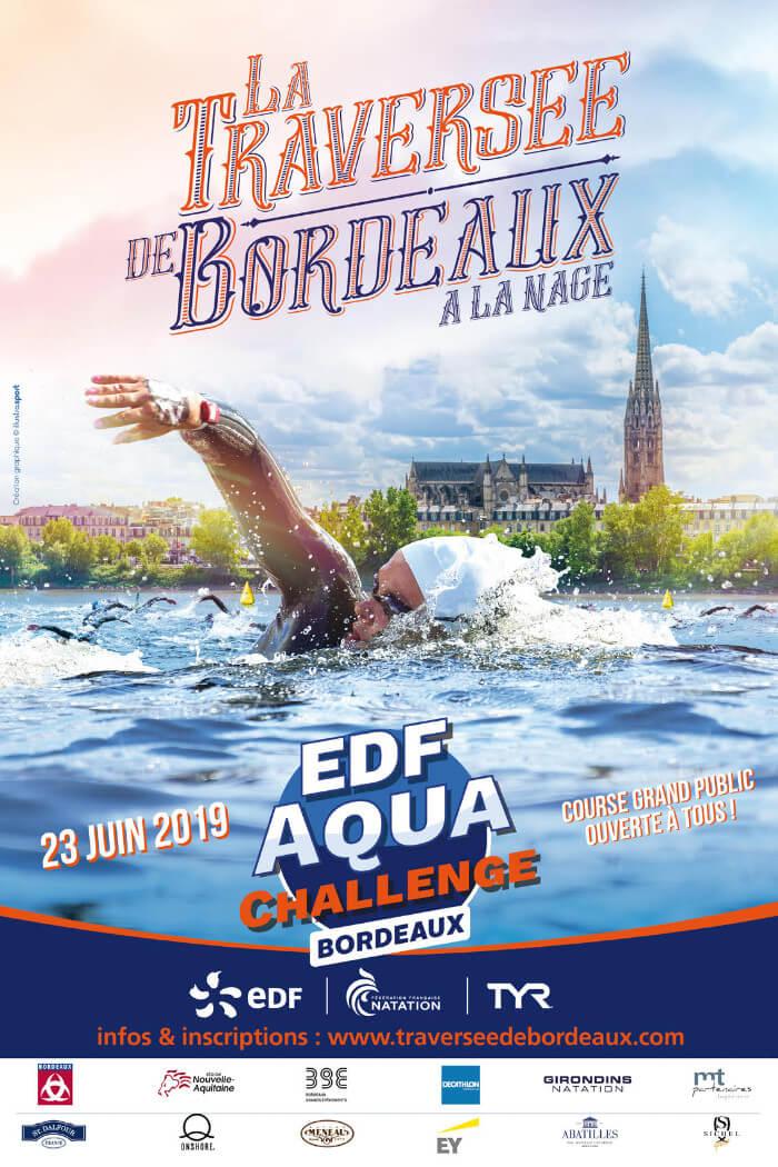 Girondins Natation - Traversée de Bordeaux à la nage