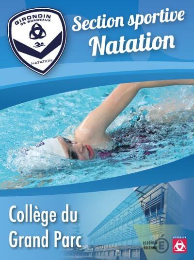 Girondins Natation - Classe sportive