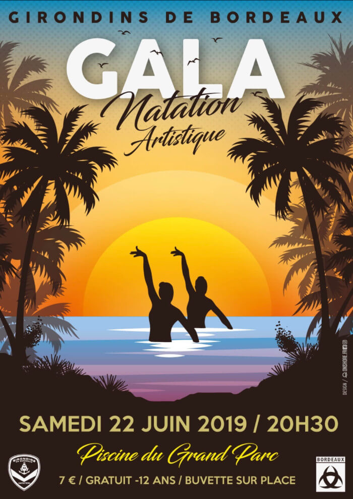 Girondins Natation - Gala Natation Artistique